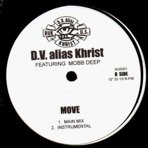 DV Alias Khrist - Building / Move - 12''