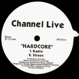 Channel Live - Hardcore - 12''