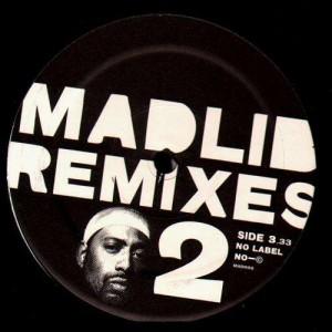 Madlib -  remixes -  2LP