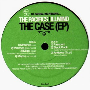 The pacifics / Illmind - The Case (EP) - Vinyl EP