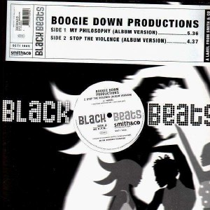 Boogie Down Productions - My Philosophy / Stop the violence - 12''