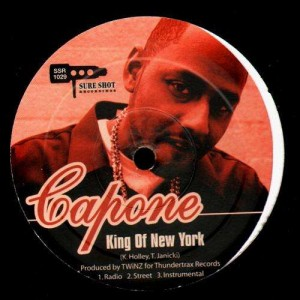 Capone -  King of New York  / Troublesome / F.U. your Honor - 12''