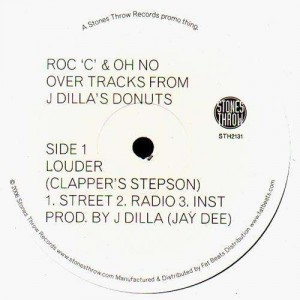 Roc C & Oh No - Louder / Pandemonium - 12''