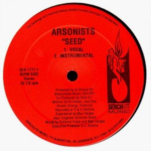 Arsonists - Venom / Seed - 12''