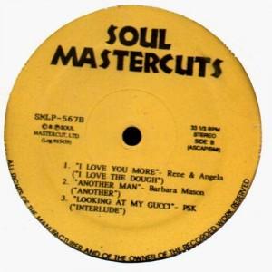 Soul Mastercuts (Sylvia Striplin, DeBarge, James Brown...)  - LP