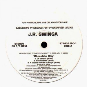J.R. Swinga - Chocolate city / Lord Finesse - Shorties kaught in the system - 12''