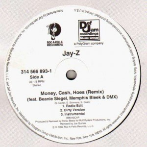Jay-Z - Money, cash, hoes remix / Jigga what ? / Nigga what, nigga who - 12''