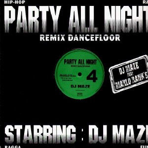 DJ Maze - Party All Night 4 - 12''