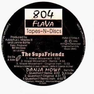 The Supafriendz - Wowel movement / Danja Mowf - Question ? - 12''