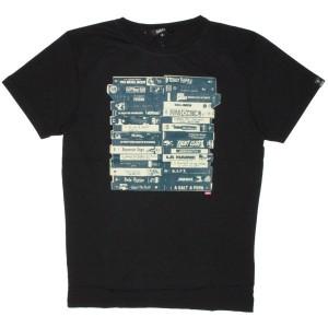 Qhuit T-Shirt - Mes VHS - Black