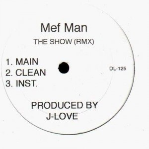 Method Man - Say what / The show (J-Love remixes) - 12''