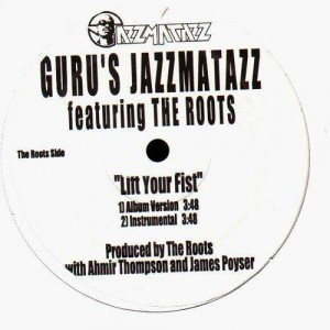 Guru - Keep your worries (feat. Angie Stone) / Lift your fist (feat. The Roots) - 12''