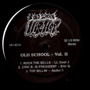 Old School Hip Hop vol.2 - Various Artists - 12''