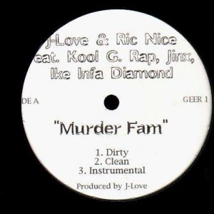 J-Love & Ric Nice - Murder fam - 12''
