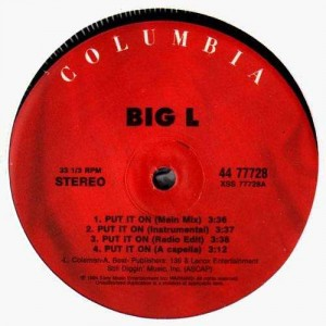 Big L - Put it on / Danger Zone - 12''