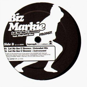 Biz Markie - Let me see u bounce (feat. Elephant Man) - 12''