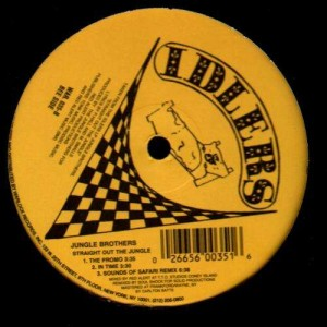 Jungle Brothers - Straight out the jungle - 12''