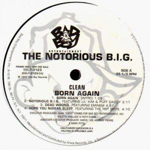 The Notorious B I G Born Again 2 Lp Temple Of Deejays