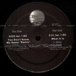 T-Rex - You don't know my name remix / What is it - 12''