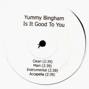 Yummy Bingham - Is it good to you - 12''