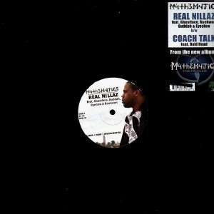 Mathematics - Real Nillaz / Coach talk - 12''