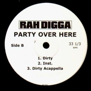 Rah Digga - Party over here - 12''