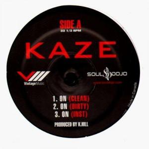 Kaze - On / Move over (feat. Nature) / Soul dojo - 12''