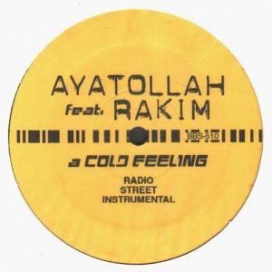 Ayatollah & Rakim - A cold feeling - 12''