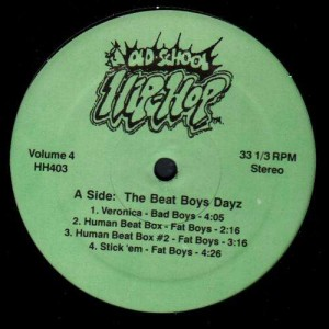 Old School Hip Hop Volume 4 - Various Artists - LP