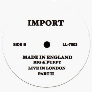 The Notorious B.I.G. & Puff Daddy - Made in england : Live in London - 12''