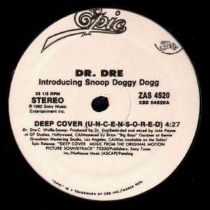 Dr.Dre - Deep Cover (U-N-C-E-N-S-O-R-E-D) - 12''