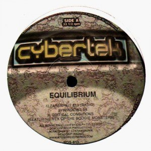 Equilibrium - Farenheit 813 / Windows 98 / Critical Conditions - 12''