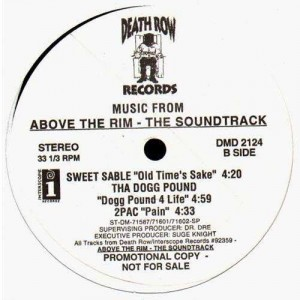 Above The Rim - The Soundtrack - 12''