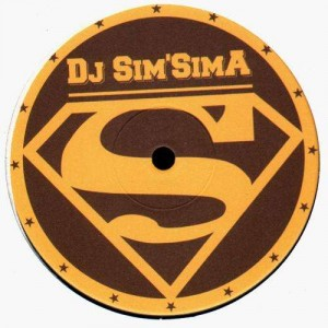 DJ Sim'Sima - Step on the water / Rock it like it roll - 12''