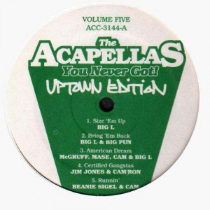 The Acapellas you never got ! - Uptown edition - Various Artists - LP