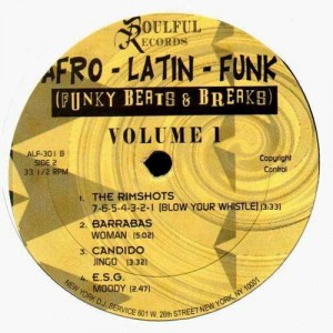 Afro-Latin-Funk Vol.1 - Funky beats & Breaks - Vinyl EP