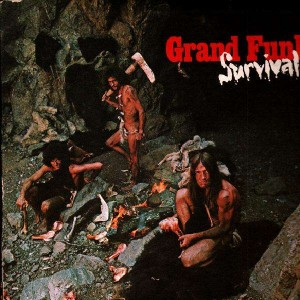 Grand Funk Survival Lp Temple Of Deejays