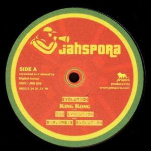 Jahspora - Evolution (King Kong) / Dépassé (Mighty) - 12''