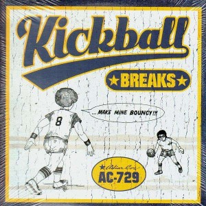 Adiar Cor - Kickball Breaks - LP