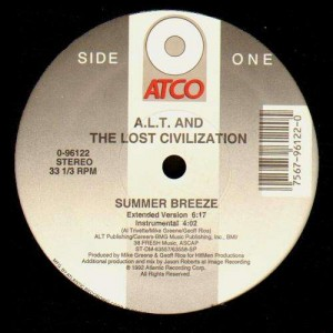 A.L.T. and the Lost Civilization - Summer breeze / In between the sheets - 12''