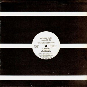 Poor Righteous Teachers - Conscious style - promo 12''