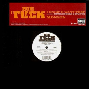 Big Tuck - I know u want that (feat. Chamillionaire & Tum Tum) / Monsta - 12''