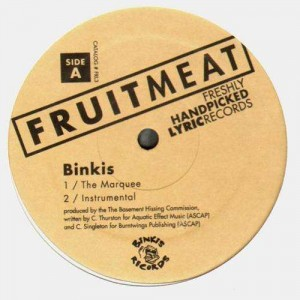 Binkis - The Marquee / That's what I'm talking about - 12''