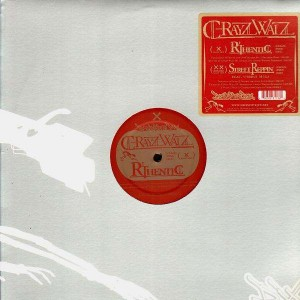 C-Rayz Walz - R'Thentic / Street Reppin' (feat. Vordul Mega) - 12''