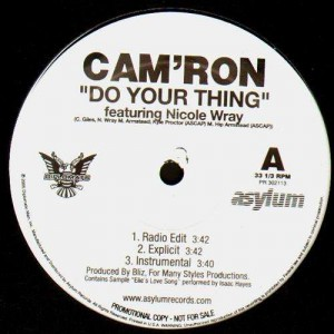 Cam'Ron - Do your thing (feat. Nicole Wray) - 12''