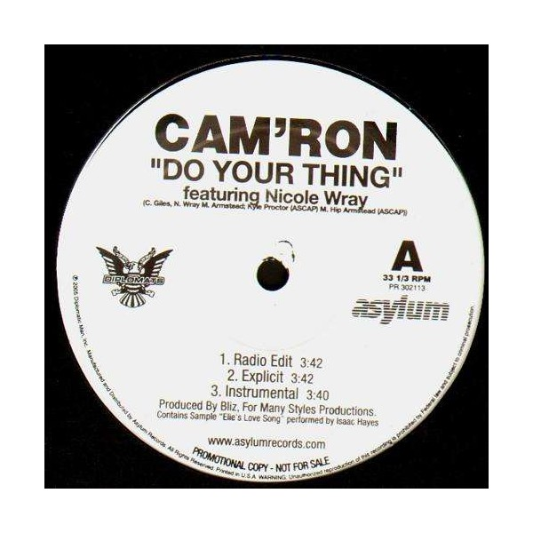 Cam Ron Do Your Thing Mp3 Download