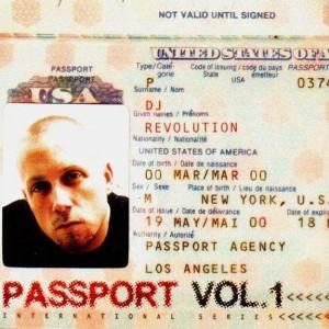 DJ Revolution - Passport Vol.1 - CD
