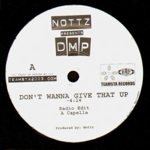 DMP - Don't wanna give that up - 12''
