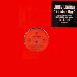 John Legend - Number One (feat. Kanye West) – 12''