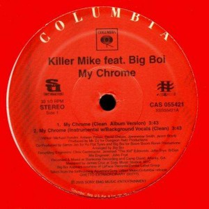 Killer Mike - My chrome (feat. Big Boi) - 12''